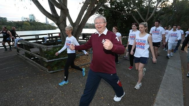 "Kevin Rudd wanted to try and do everything ""faster and faster'' during the 2013 election campaign, a Julia Gillard supporter told political journalist Laurie Oakes."