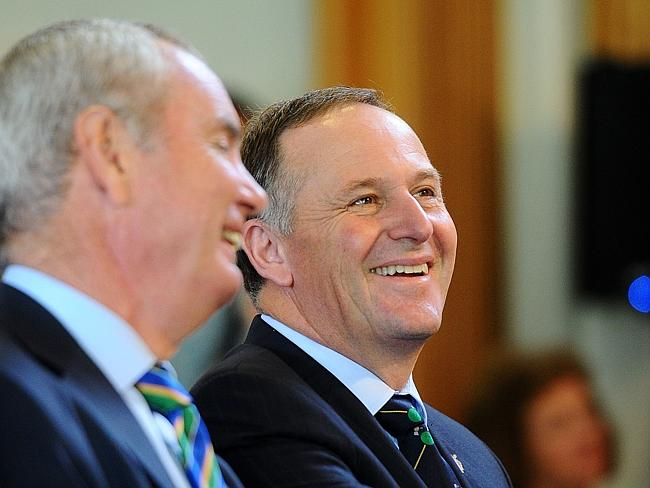 The truth is out there: Kiwi PM John Key. Picture: Getty Images