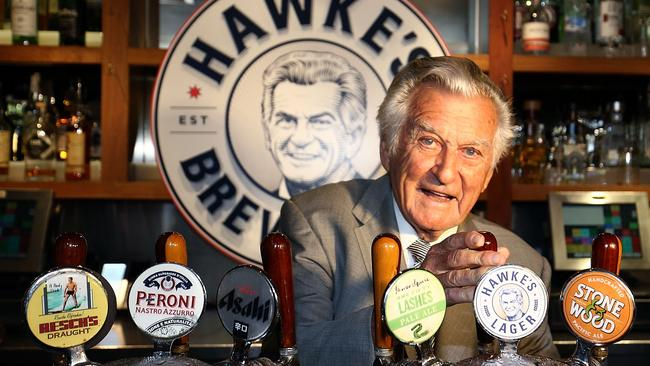 The former Prime Minister even has his own brand of beer. Source: Mark Metcalfe/Getty Images.