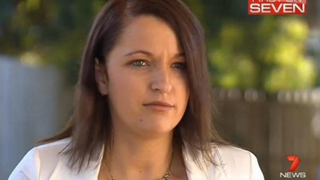 One Nation candidate Stephanie Banister probably wished this interview didn't happen. Seven News