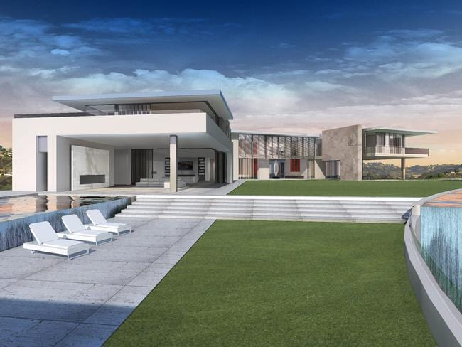The home will have a 45-seat cinema, nightclub with waterfall, spa, gym, bowling alley and 30-car garage.