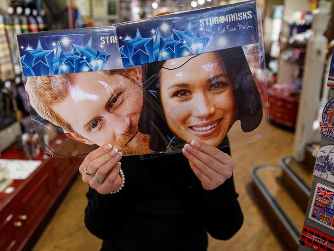 Prince Harry and Meghan mania hits Britain. Picture: Tolga Akmen