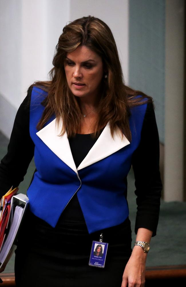 Tony Abbott's chief of staff, Peta Credlin, wields considerable power in Canberra. Picture: Ray Strange