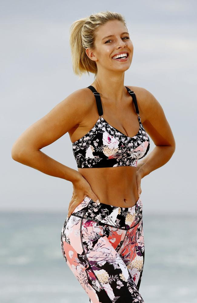 If you want a stomach like Natasha Oakley's then you better be getting your eight hours. Picture: John Appleyard