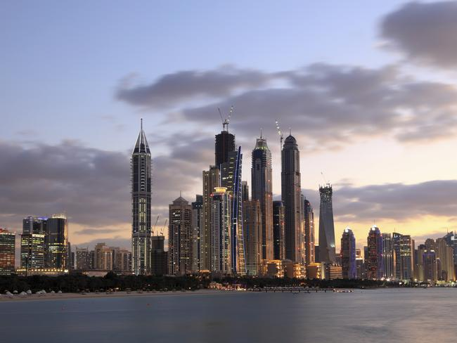 Dubai has strict laws against behaviour perceived to be publicly indecent.