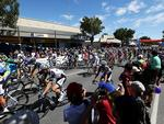 Stage 1 from Nuriootpa to Angaston begins. Picture: Simon Cross.