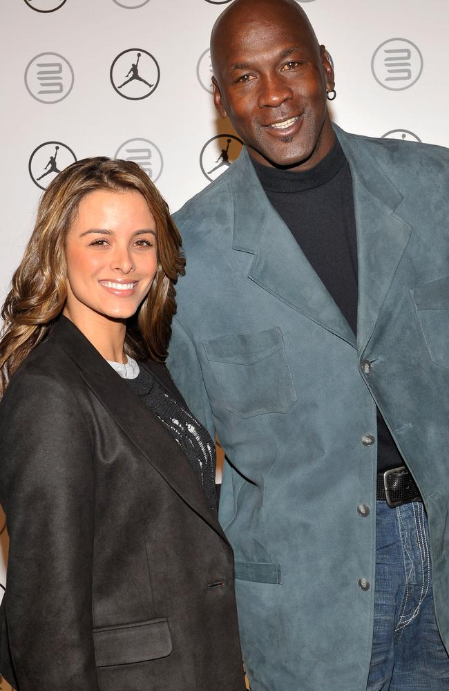 Yvette Prieto (L) and Michael Jordan (R), who's been knocked out of top spot.