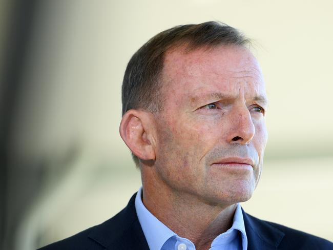 Former Prime Minister Tony Abbott has also raised concerns about a postal vote. Picture: AAP