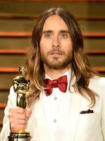 Best Supporting Actor Jared Leto attends the 2014 Vanity Fair Oscar Party. Picture: Getty