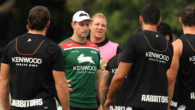 South Sydney coach Michael Maguire says the club has created a new style of play. Picture: Mark Evans