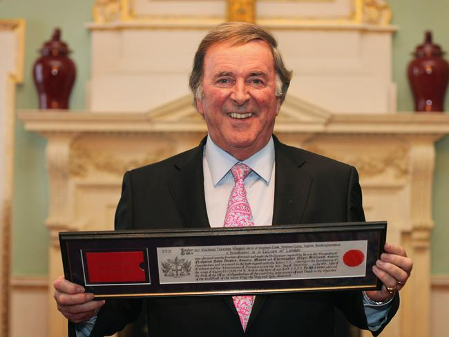 Tragic loss ... British broadcaster Sir Terry Wogan has died aged 77 after a short battle with cancer. Picture: Dan Kitwood/Getty Images