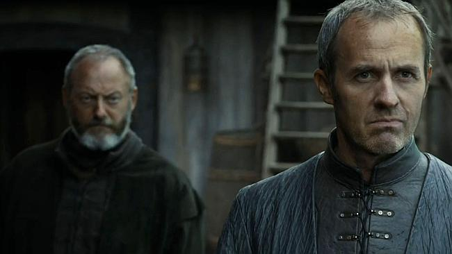 It's all ground to a total Stannis still.