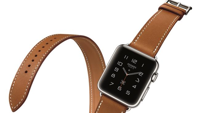 Apple's first wearable device ... Apple released its Watch, and a Hermes version of it, this year.