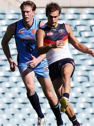 The Crows will rely on top-up players to allow it to field a reserves team this weekend. Picture Sarah Reed.