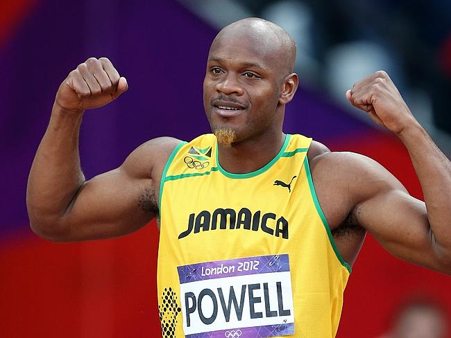 Doping ban ... Former world 100m record holder Asafa Powell has received an 18-month suspension for a positive doping test.