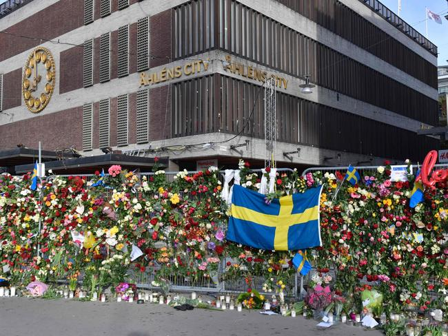 Tributes accumulated following the news of the DJ's death. Picture: AFP