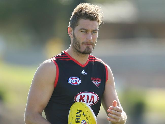 Tom Bellchambers is back for the Bombers.