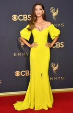 Angela Sarafyan attends the 69th Annual Primetime Emmy Awards at Microsoft Theater on September 17, 2017 in Los Angeles. Picture: Getty