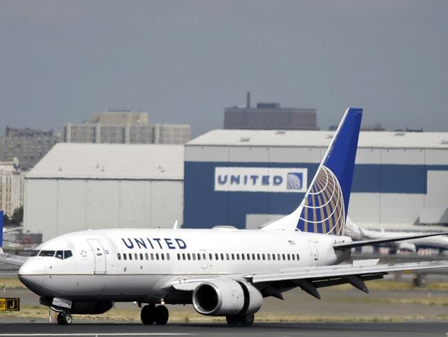United Airlines shares have plummeted in wake of the incident. Picture: AP