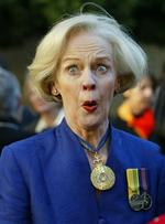 <p>Ms Bryce is sworn in as Queensland Governor in 2003.</p>