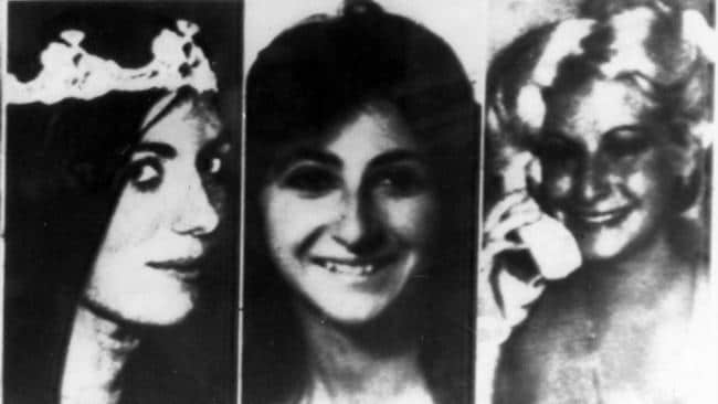 Christine Freund, Virginia Voskerichian and Stacy Moskowitz, victims of serial killer David Berkowitz, known as Son of Sam, during the New York killing spree of 1976 and 1977.