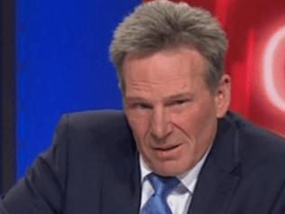 Sam Newman on Channel Nines The Footy Show. Photo: Channel Nine.
