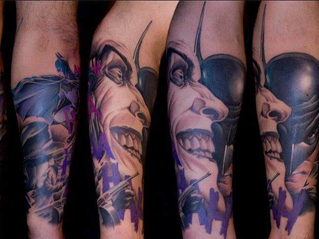 Incredible tattoos by Italian artist Lippo.