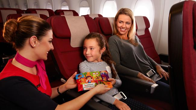Qantas will reduce capacity growth on domestic services in response to softening demand. Picture: Qantas