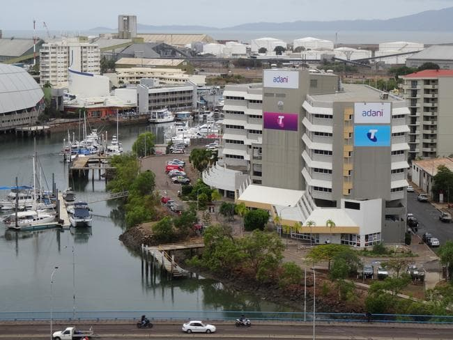 Adani's headquarters in Townsville. Picture: Charis Chang