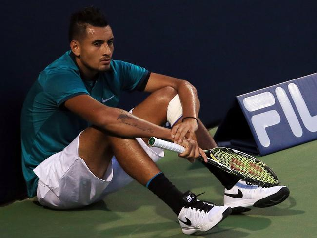 Kyrgios just doesn't care anymore
