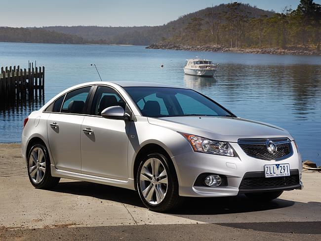 Last hope ... The Holden Cruze SRiV 2013.