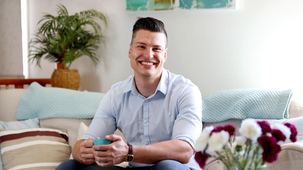 MasterChef contestant Ben Ungermann at home in Tivoli. Picture: Tara Croser