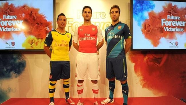 Rating: Puma's return as the Gunners' kitmaker looks an inspired decision if these three are anything to go by.  <b>ASTON VILLA</b> <b></b>