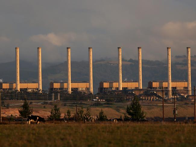 International Power's Hazelwood coal fired power station, near Morwell, in Victoria's Latrobe Valley.