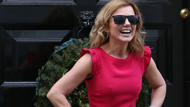 Singer Geri Halliwell arrives at Number 11 Downing Street on December 11, 2012 in London, England. Chancellor of the Exchequer George Osborne is hosting his yearly Christmas party for the Starlight charity. (Photo by Peter Macdiarmid/Getty Images).