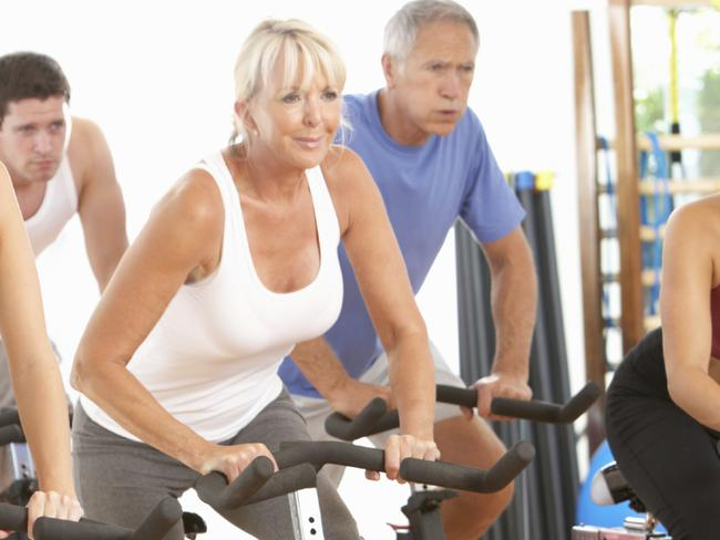 Spin class. For Feeling Great - ways to keep active over winter