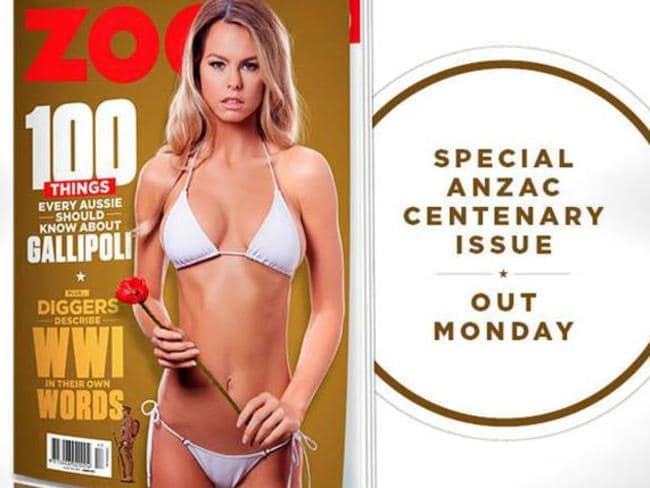 The special commemorative Anzac Day issue of Zoo Weekly was particularly disturbing.