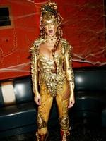 Heidi Klum attends Heidi Klum's Haunted Halloween Bash at LQ sponsored by CMA North America on October 31, 2003 in New York City. Picture: Getty
