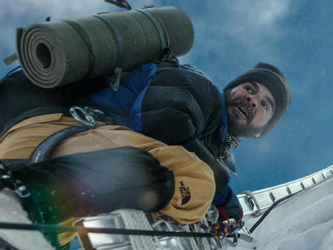 Slippery slope ... Michael Kelly plays Jon Krakauer in the film. Picture: Universal Pictures