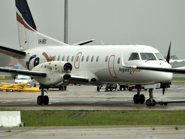 Sixteen passengers and three crew on the Rex aircraft endured a nightmare flight after one of its propellers sheared off in mid-flight.