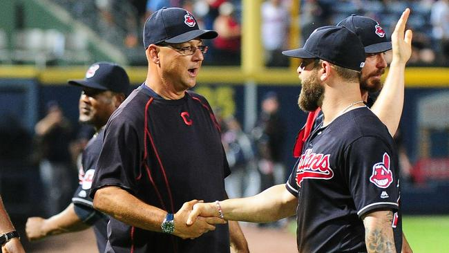 Cleveland Manager Terry Francona lost a tooth in October chewing tobacco during a game.