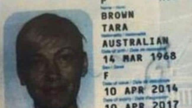 Tara Brown's passport has surface, along with her co-workers.