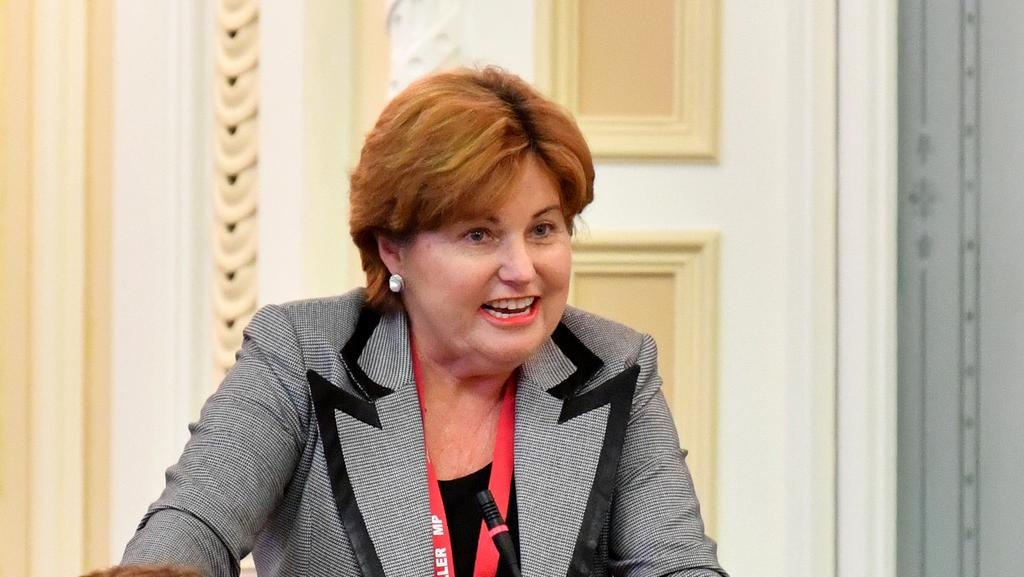 Member for Bundamba Jo-Ann Miller has attacked the State Government over laws to protect miners. File picture