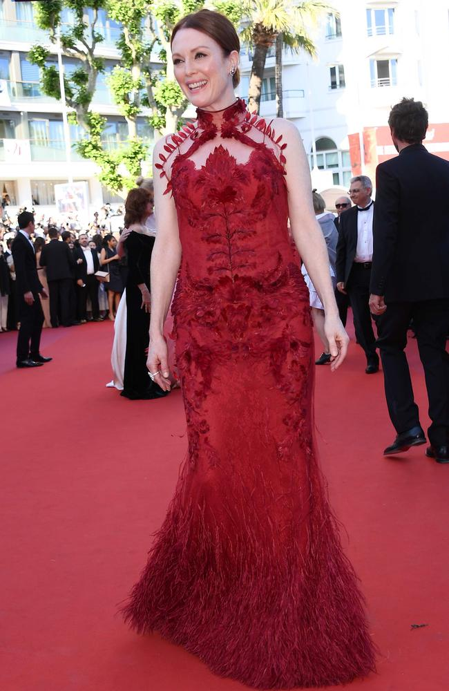 Actress Julianne Moore. Picture: AFP/Anne-Christine Poujoulat