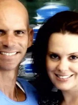 Lyle Menendez and his wife Rebecca Sneed, the second woman he had married since being jailed for life for his parents' murder.Source:Supplied