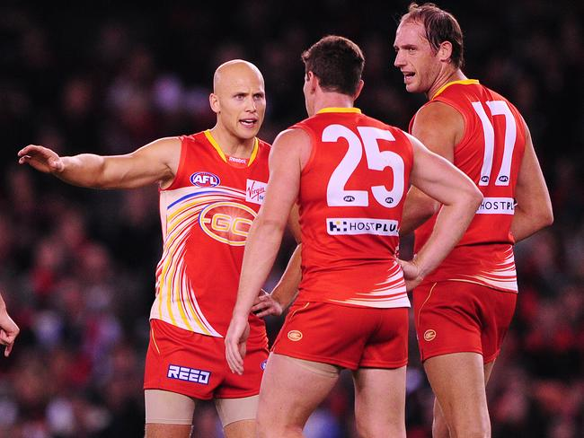 Ablett is looking forward to seeing what the game looks like from a coach's perspective. Picture: Colleen Petch