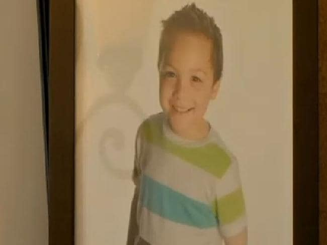 Motherless child ... Collette Moreno leaves behind a five-year-old son Braden. Picture: KCTV5