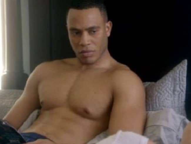 Unhappy ... Trai Byers reportedly believes much of the work on Empire is below him. Picture: Supplied