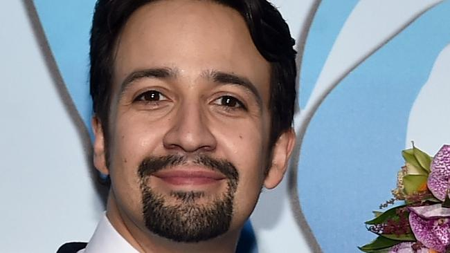 Hamilton star Lin Manuel-Miranda was set to make a film with the Weinstein Company — now he wants out. Picture: Getty