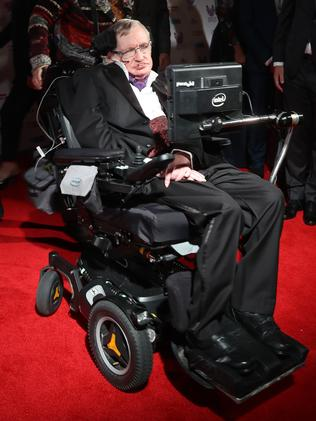 Stephen Hawking attends the Pride Of Britain awards at the Grosvenor House Hotel on October 31, 2016 in London, England. Picture: Chris Jackson/Getty Images.